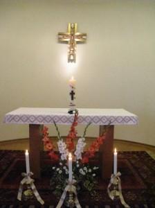 064  3 lys med gavelys fra selktninger sr. Edel 8. sept. 2012