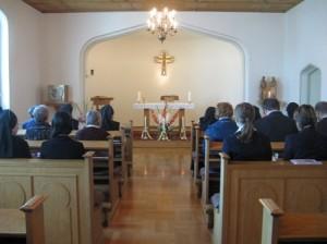 kapellet før festmessen