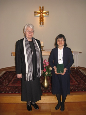 497 (2) Marianne blir tatt opp i novisiatet 2.febr. 2014 ved provinsialforstanderinnen sr. Marit